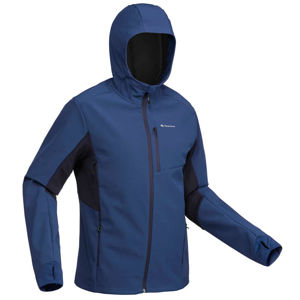 FORCLAZ Pánska Bunda Trek500 Windwarm