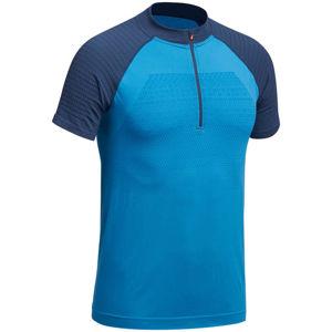 QUECHUA Pánske Tričko Fh900 Modré