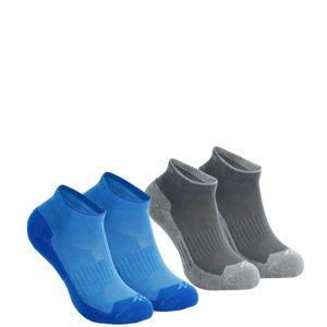 QUECHUA Ponožky Mh100 Jr X2